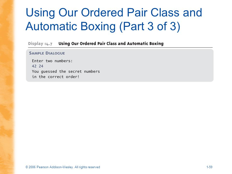Using Our Ordered Pair Class and Automatic Boxing (Part 3 of 3)