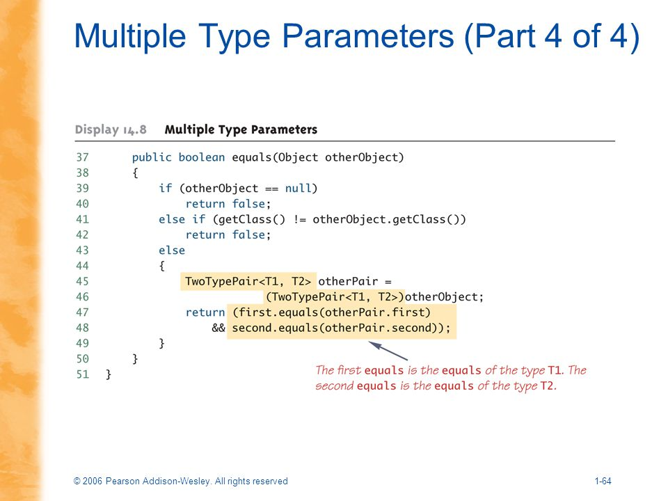 Multiple Type Parameters (Part 4 of 4)