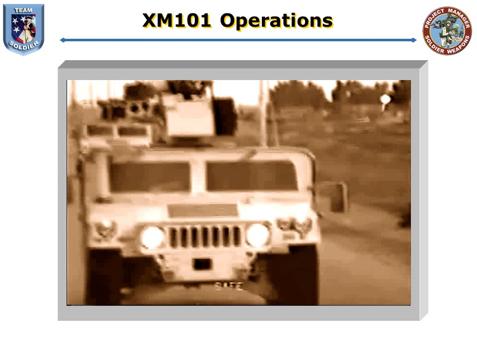 XM101 Operations