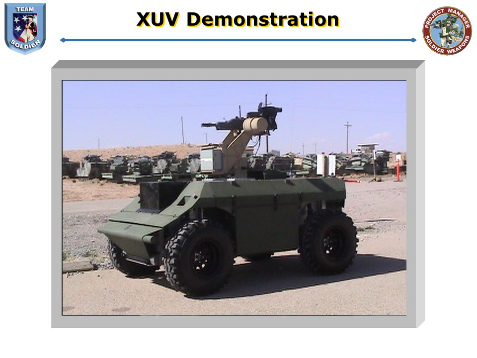 XUV Demonstration