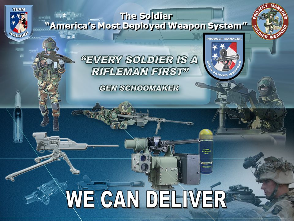 America's Most Deployed Weapon System