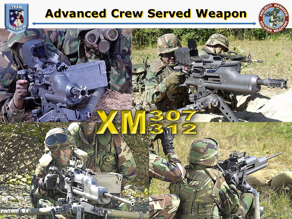 Advanced Crew Served Weapon