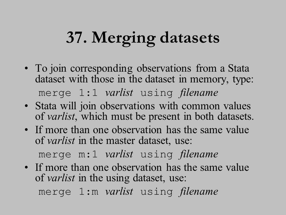 38. Merging datasets (cont.)