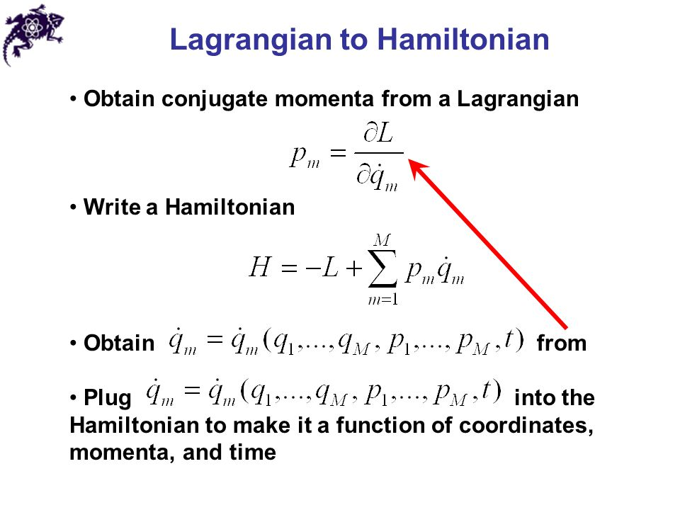 how to find constant of motion from lagrangian