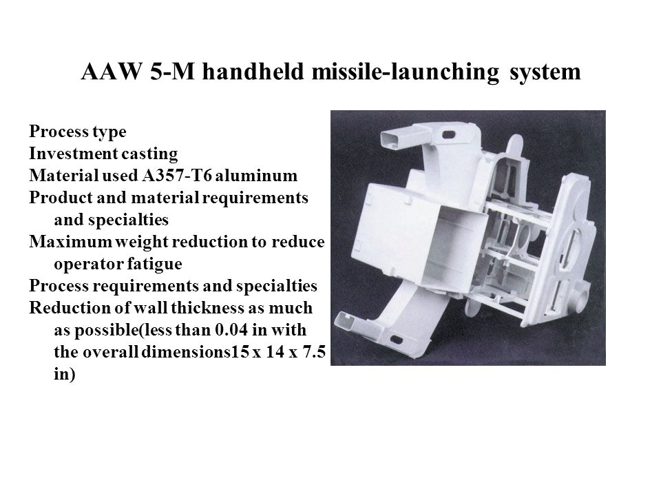 AAW 5-M handheld missile-launching system