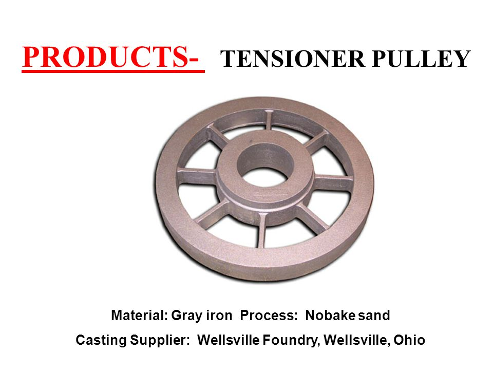 PRODUCTS- TENSIONER PULLEY
