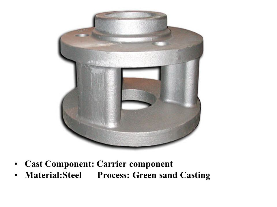 Cast Component: Carrier component