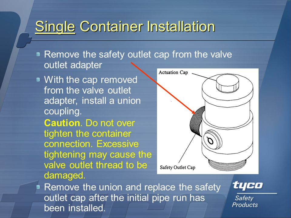 Single Container Installation