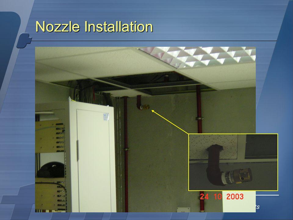 Nozzle Installation