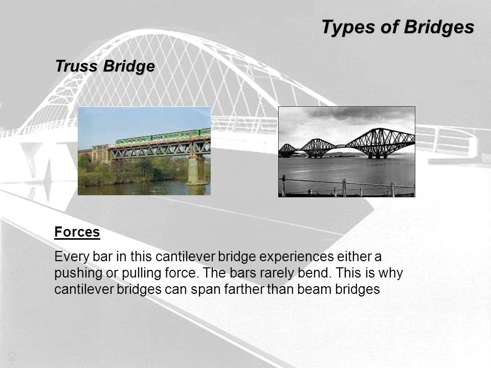 Types of Bridges Truss Bridge Forces
