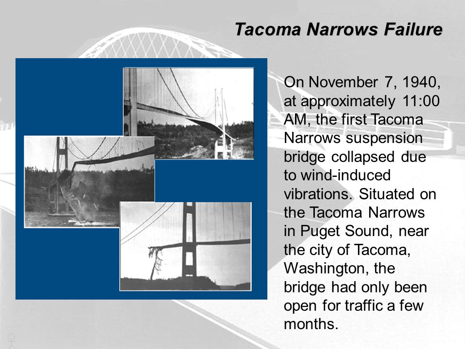 Tacoma Narrows Failure