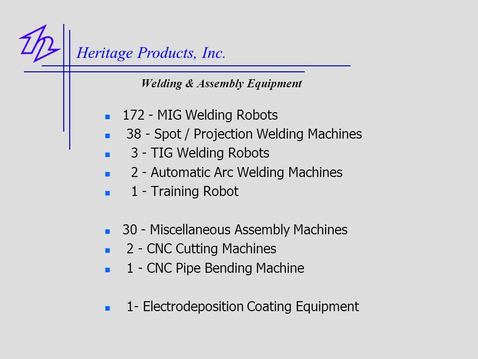 Welding & Assembly Equipment