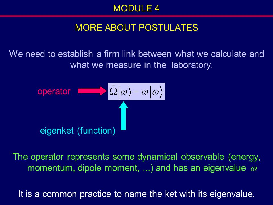 It is a common practice to name the ket with its eigenvalue.