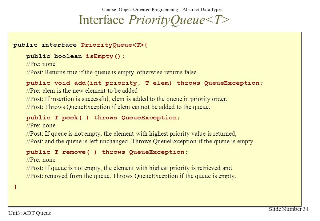 how to use priority queue java