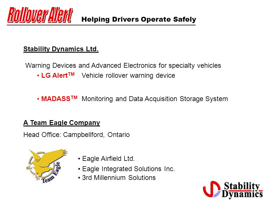 Stability Dynamics Ltd.