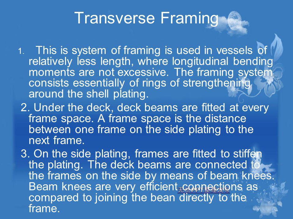 Transverse Framing