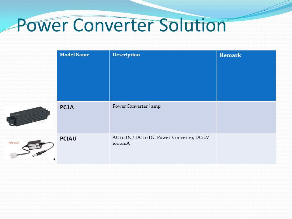 Power Converter Solution
