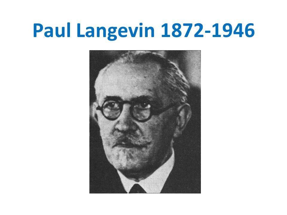 Paul Langevin 1872-1946