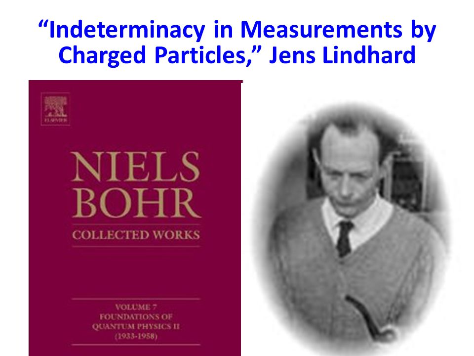 Indeterminacy in Measurements by Charged Particles, Jens Lindhard