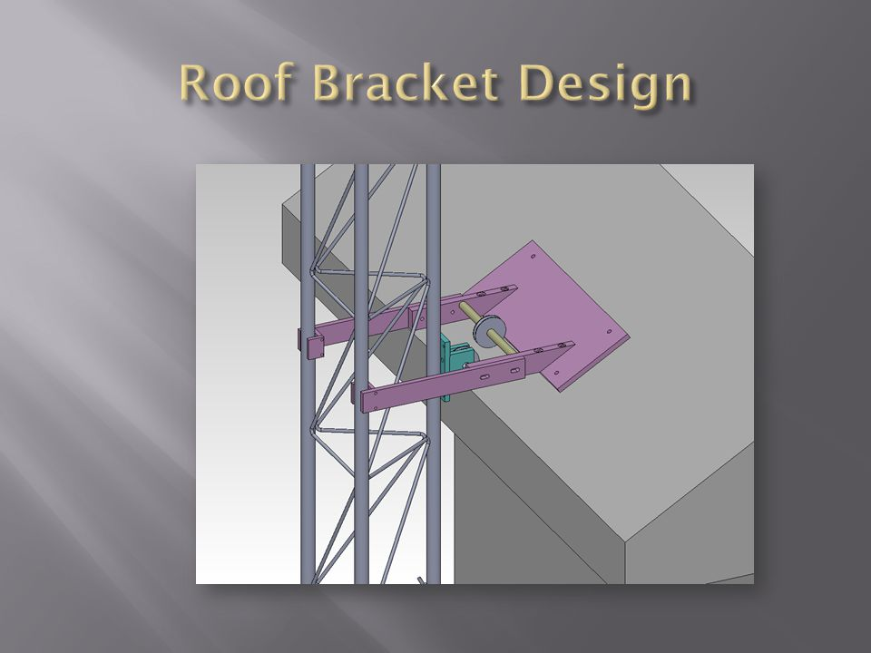 Roof Bracket Design