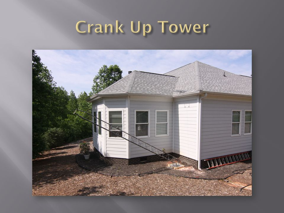 Crank Up Tower