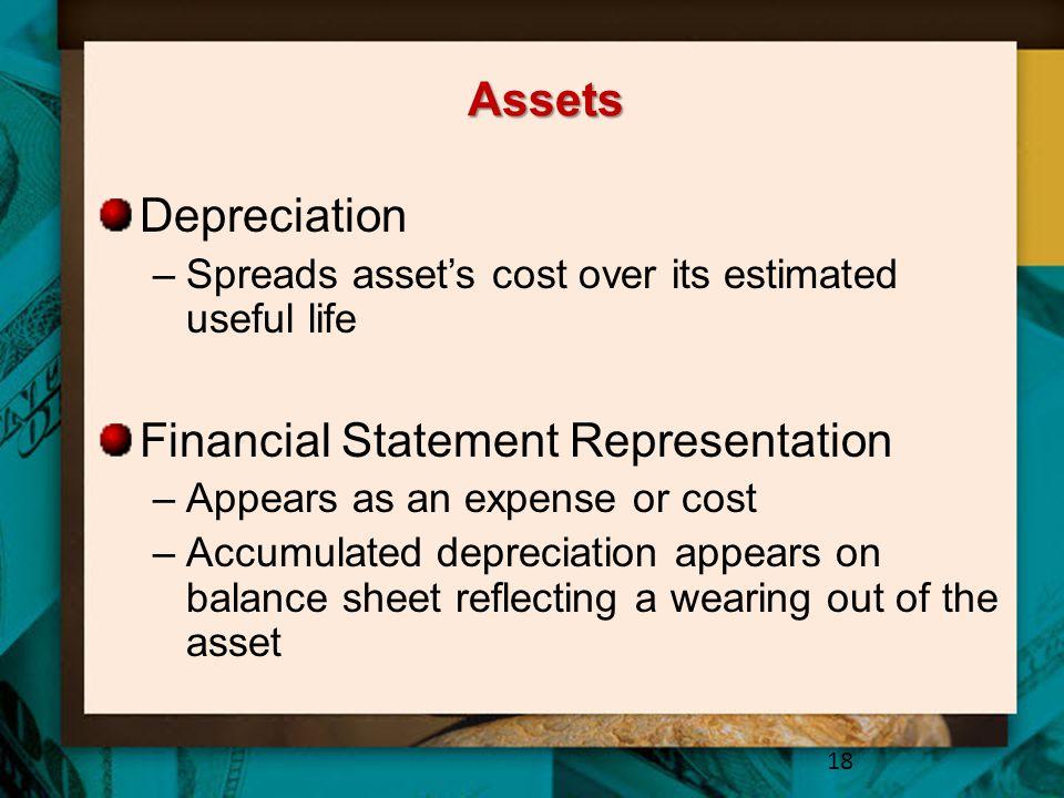 Financial Statement Representation
