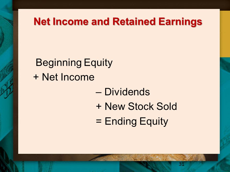 Net Income and Retained Earnings