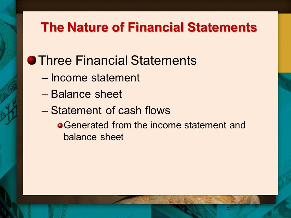 The Nature of Financial Statements