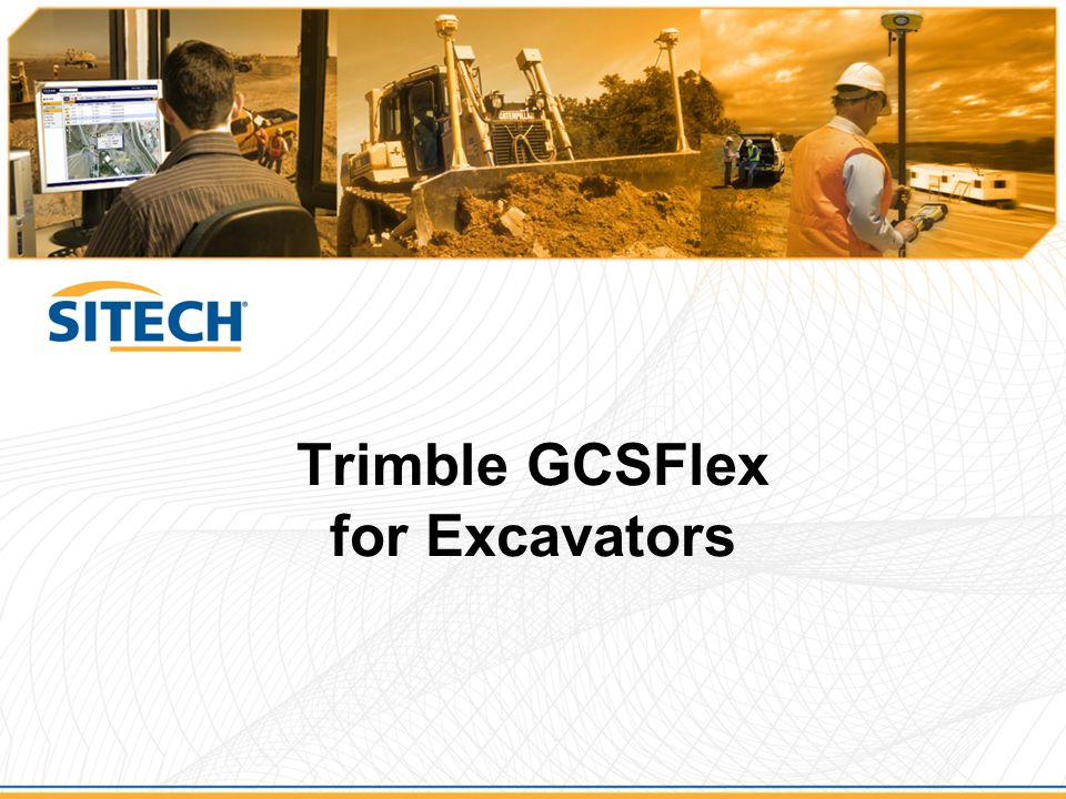 Trimble GCSFlex for Excavators