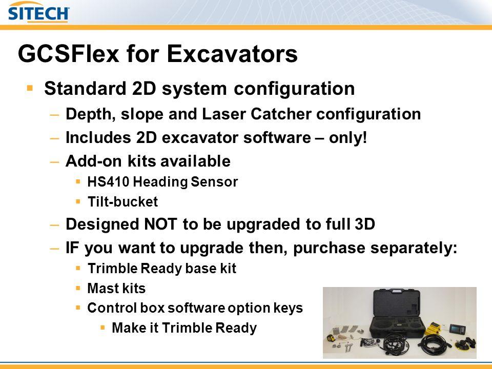GCSFlex for Excavators