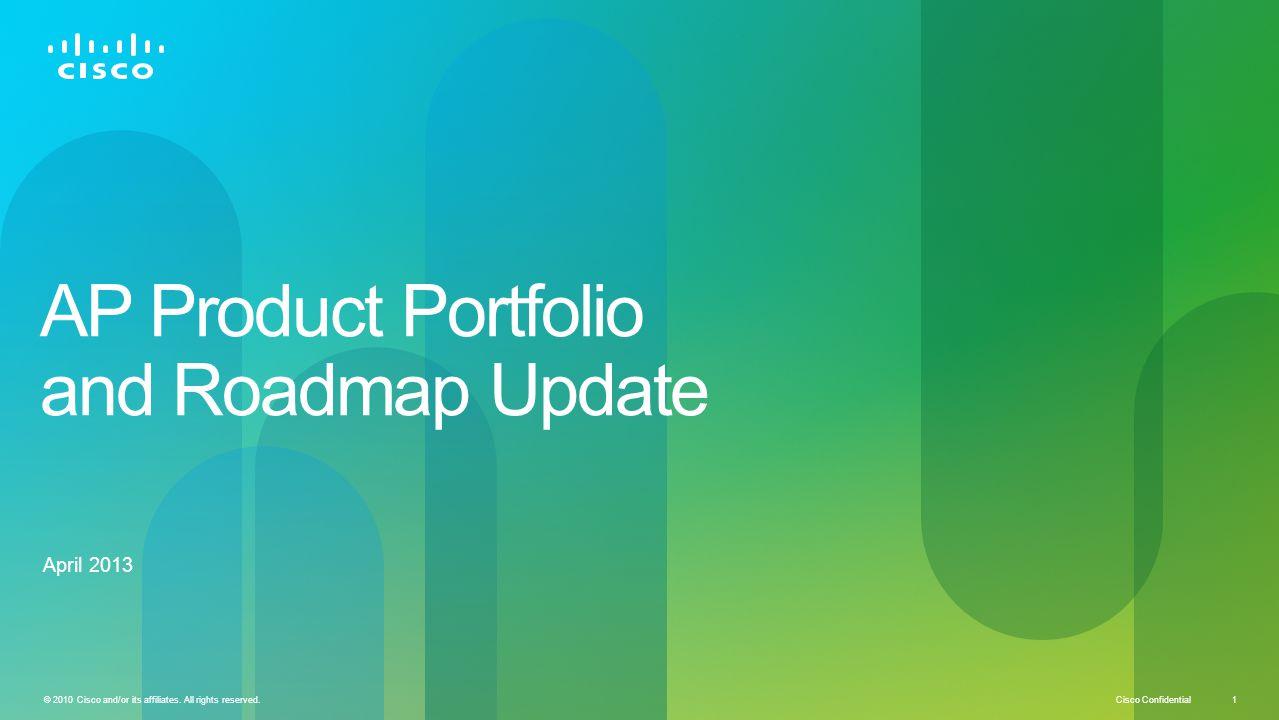 AP Product Portfolio and Roadmap Update