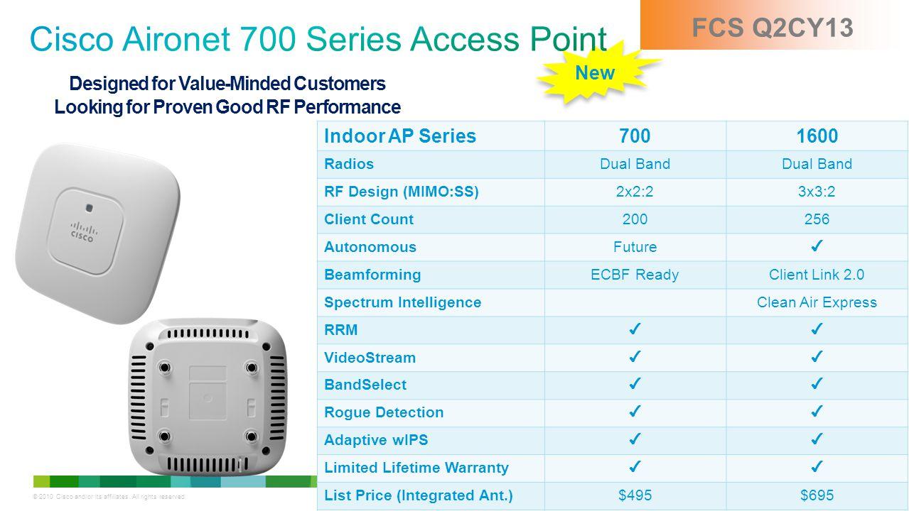 Cisco Aironet 700 Series Access Point