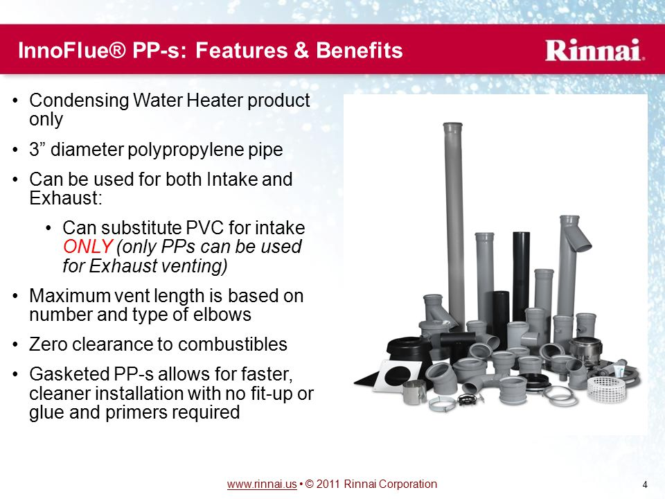 InnoFlue® PP-s: Features & Benefits