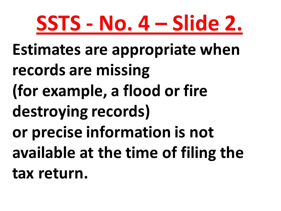 SSTS - No. 4 – Slide 2.