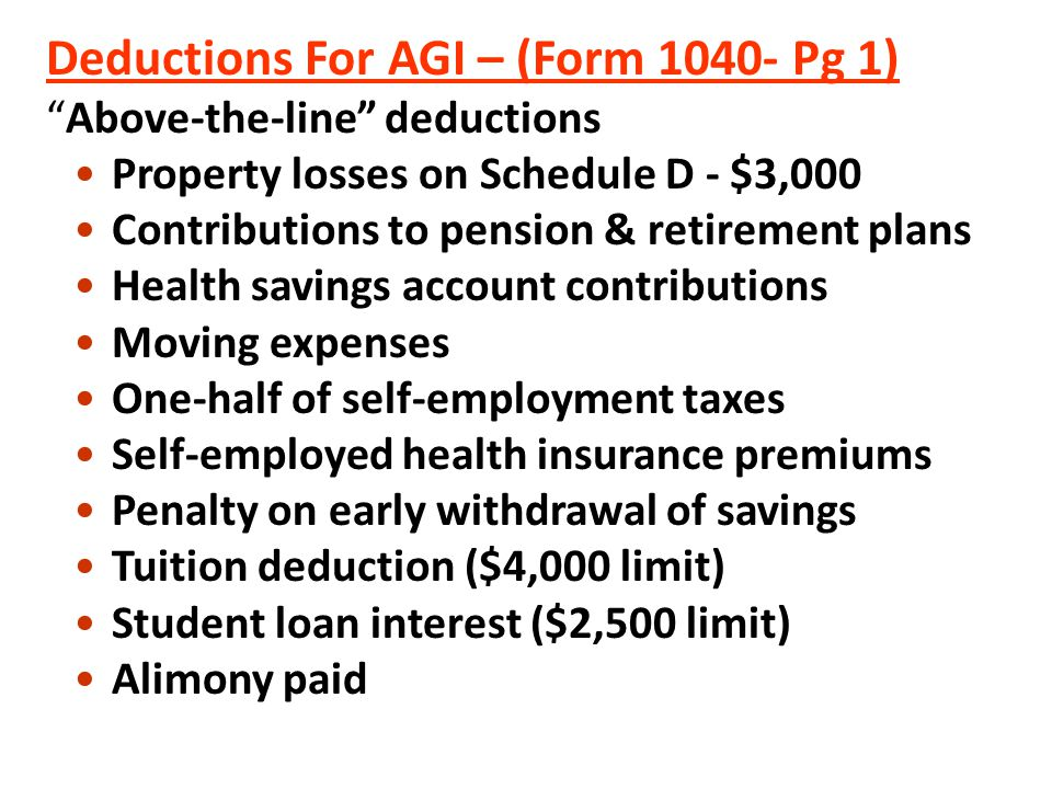 Compare this to the front of the Form 1040