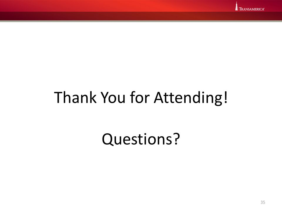 Thank You for Attending! Questions