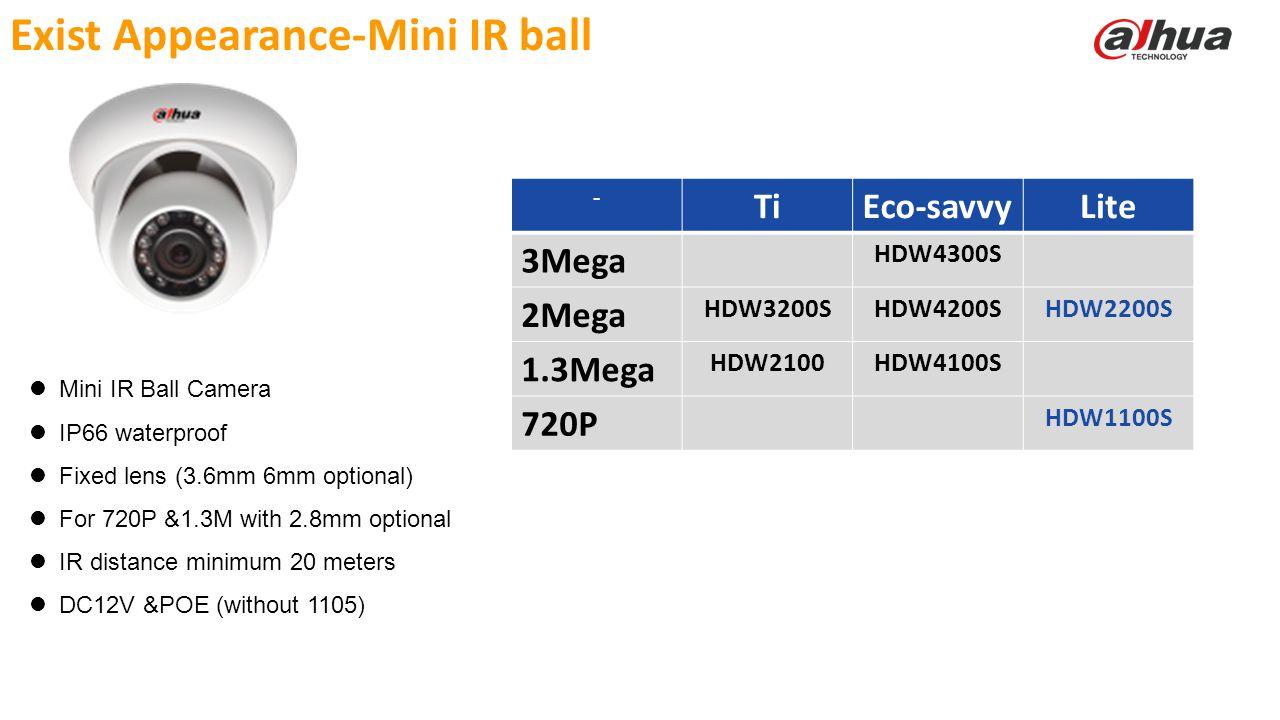 Exist Appearance-Mini IR ball