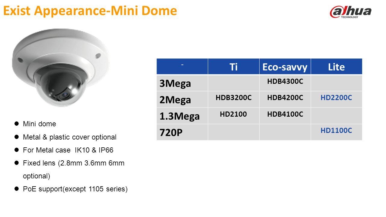 Exist Appearance-Mini Dome