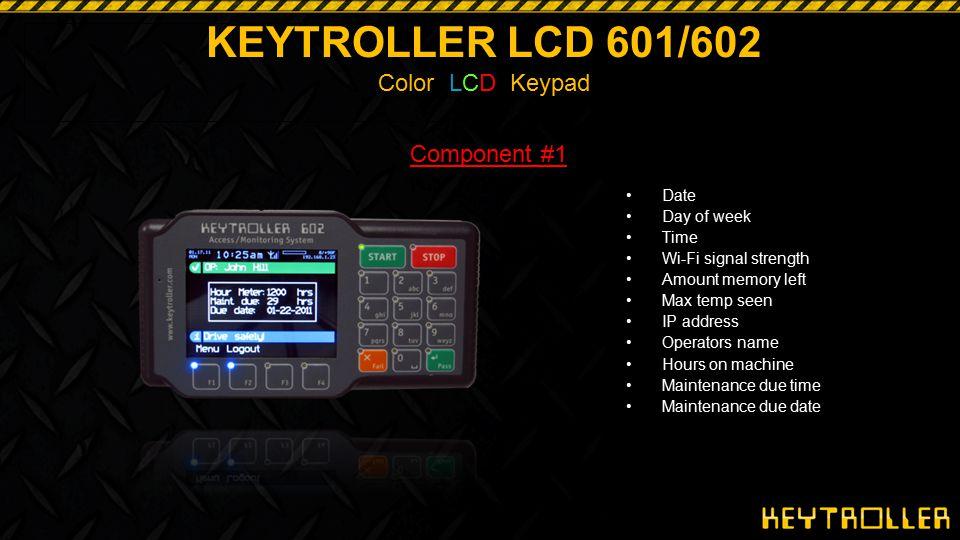 KEYTROLLER LCD 601/602 Color LCD Keypad