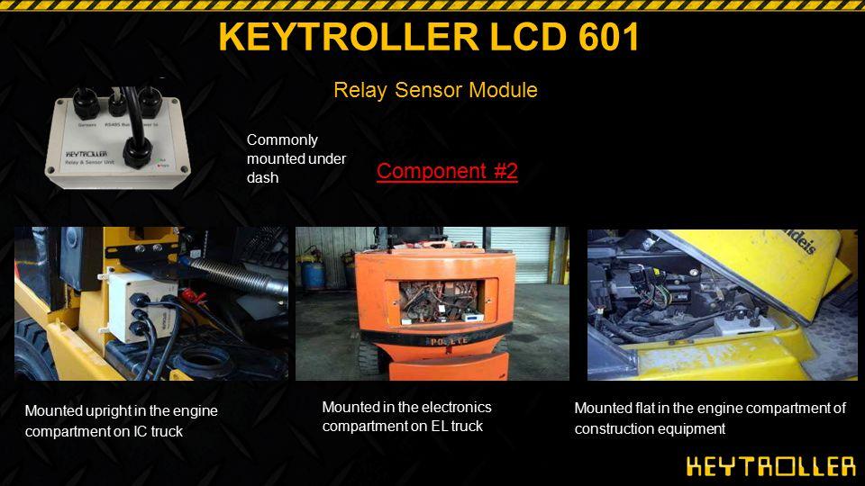 KEYTROLLER LCD 601 Relay Sensor Module