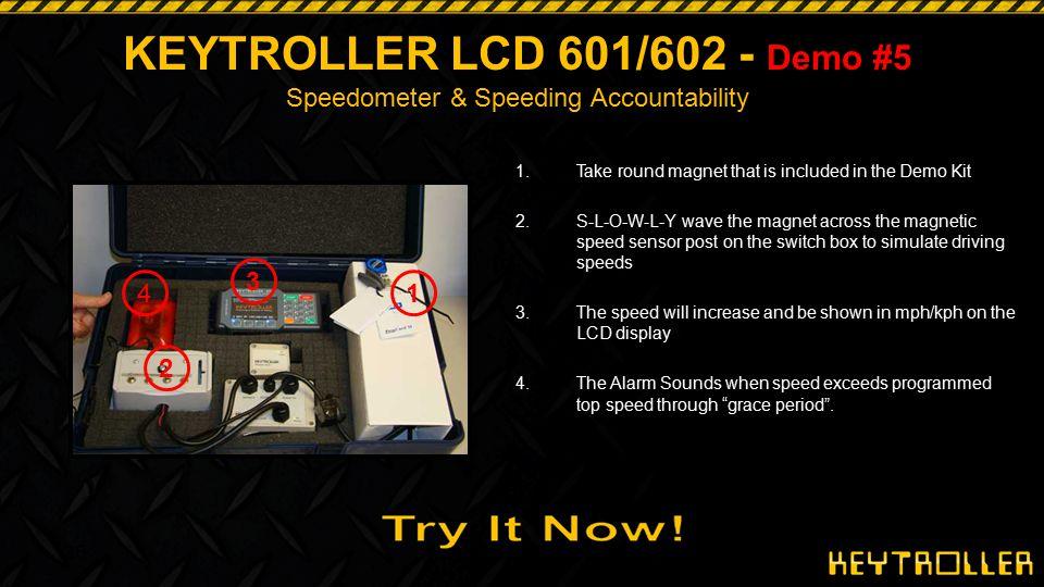 KEYTROLLER LCD 601/602 - Demo #5