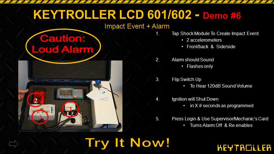 KEYTROLLER LCD 601/602 - Demo #6