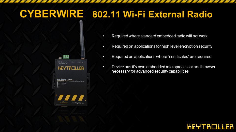 CYBERWIRE 802.11 Wi-Fi External Radio