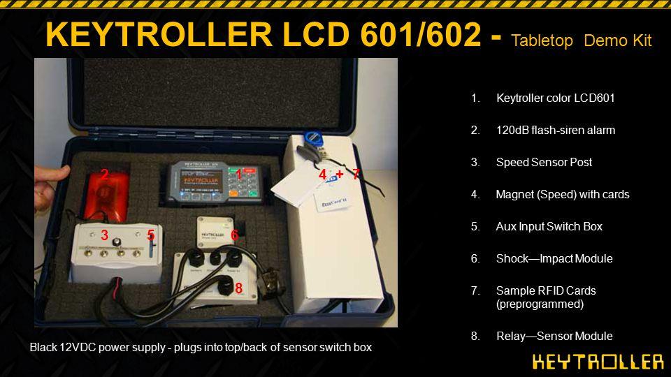 KEYTROLLER LCD 601/602 - Tabletop Demo Kit