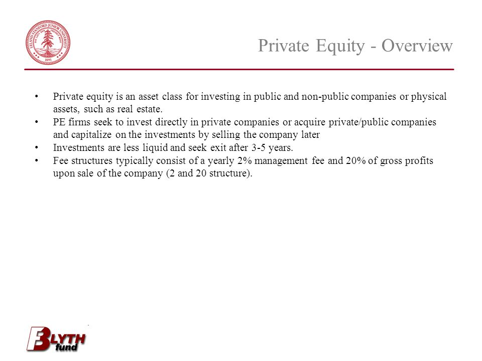 Private Equity - Overview
