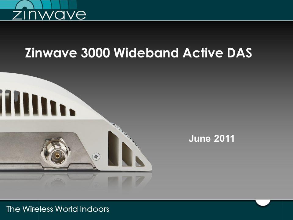 Zinwave 3000 Wideband Active DAS