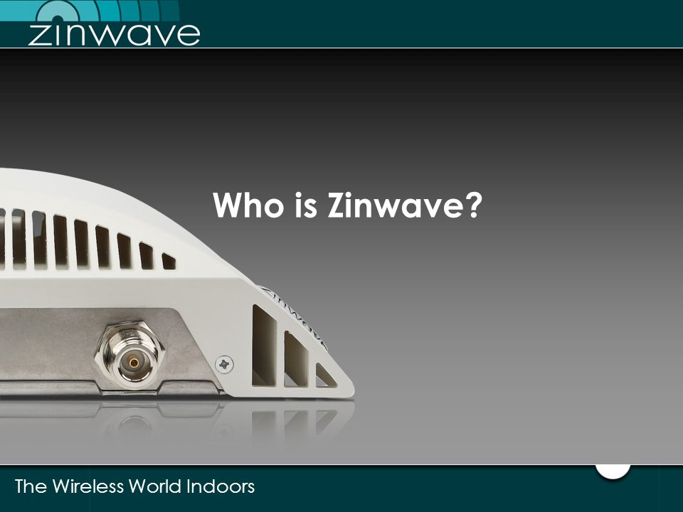 Who is Zinwave