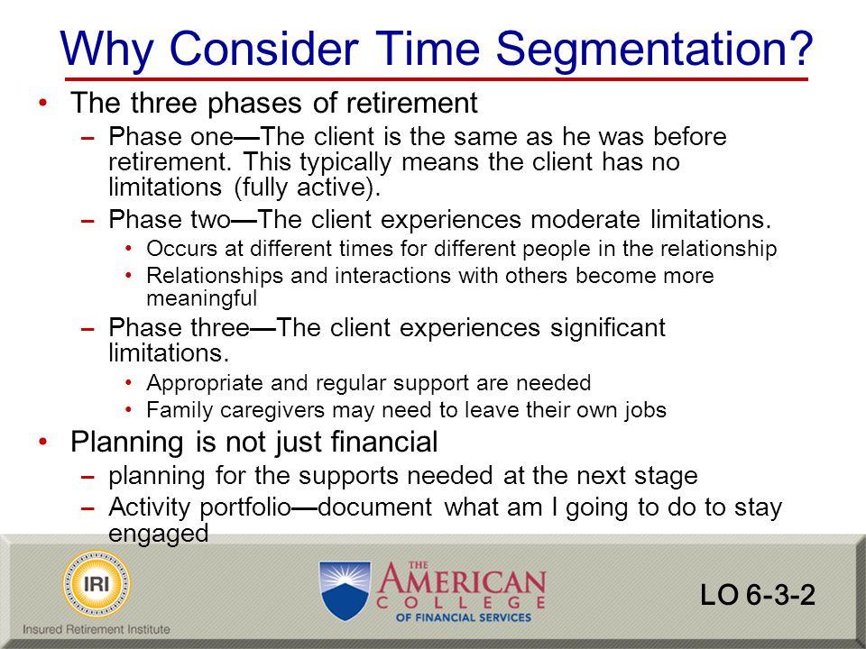 Why Consider Time Segmentation