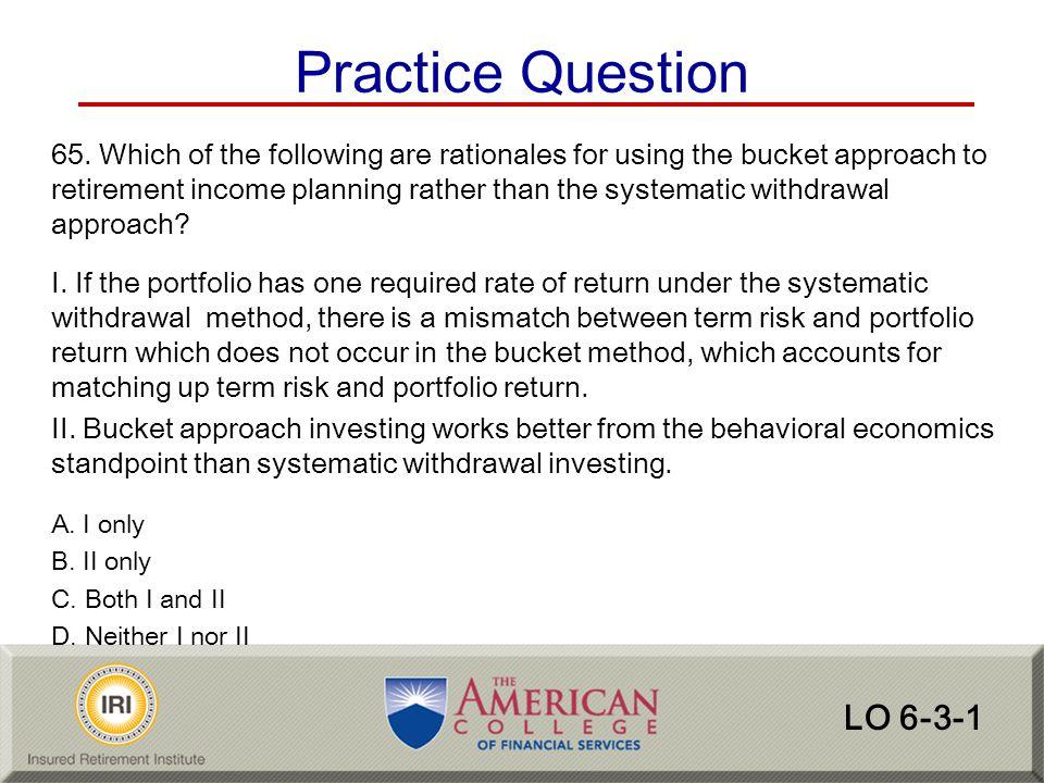 Practice Question LO 6-3-1