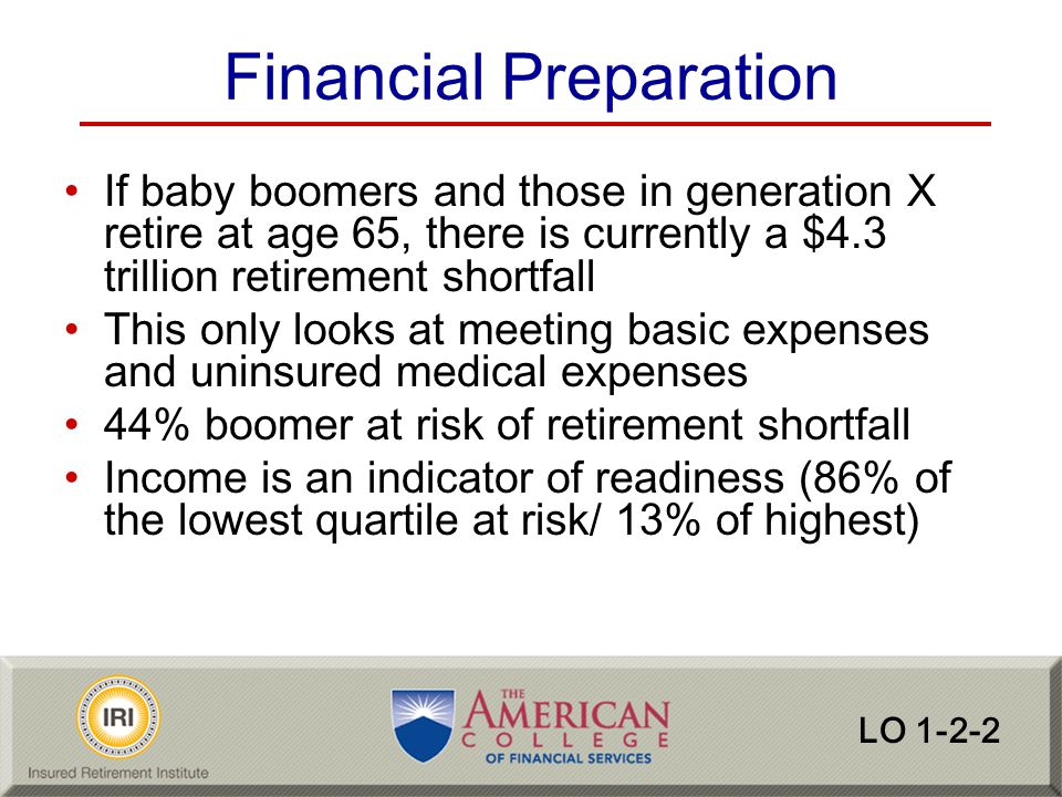 Financial Preparation